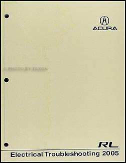 2005 acura rl electrical troubleshooting manual original. Black Bedroom Furniture Sets. Home Design Ideas