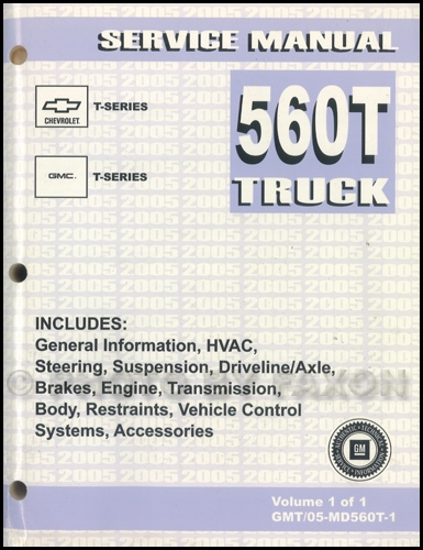 2005ChevyT SeriesTruckORM 2005 t series tilt cab medium duty truck repair shop manual 2004 gmc t6500 wiring diagram at creativeand.co