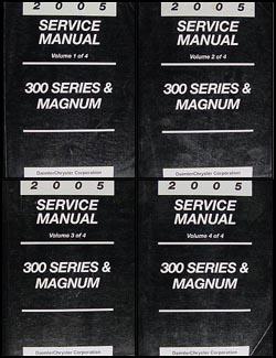 2005 chrysler 300 dodge magnum repair shop manual 4 vol set original 2005 chrysler 300 dodge magnum repair manual 4 vol set original publicscrutiny Image collections
