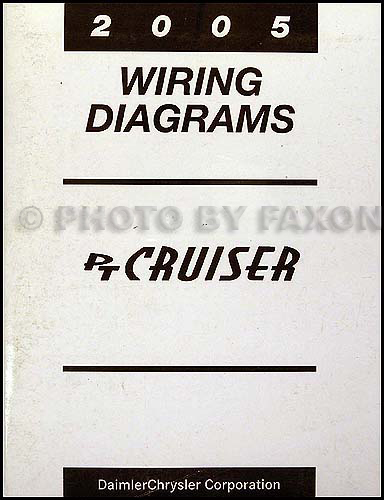 2005 chrysler pt cruiser wiring diagram manual original rh faxonautoliterature com PT Cruiser Radio Harness Diagram Horn Wiring Diagram