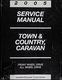 dodge caravan 2005 manual repair