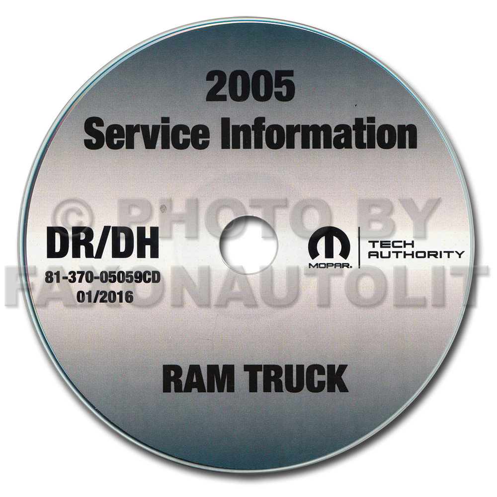2005 dodge ram truck 1500 2500 3500 repair shop manual cd rom. Black Bedroom Furniture Sets. Home Design Ideas