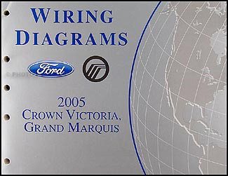 2005FordCrownVictoriaOWD 2005 ford crown victoria mercury grand marquis wiring diagram manual 1997 mercury grand marquis radio wiring harness at fashall.co