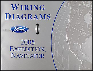 2005 ford expedition lincoln navigator wiring diagram manual original rh faxonautoliterature com 2005 ford expedition speaker wire colors