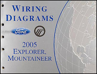 2005 ford explorer wiring diagram 2005 ford explorer & mercury mountaineer wiring diagram manual #3