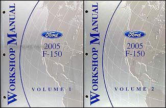 2005 ford f 150 repair shop manual original 2 volume set rh faxonautoliterature com 2005 f150 repair manual download 2005 ford f150 repair manual pdf free