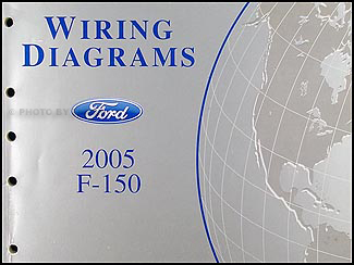 2005 Ford F-150 Wiring Diagram Manual Original