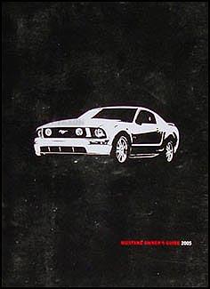 2005 ford mustang owner s manual original rh faxonautoliterature com 2005 ford mustang gt convertible owners manual 1995 Ford Mustang Owners Manual