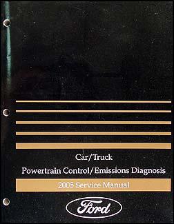 2005 Lincoln Aviator Repair Shop Manual Original 2 Volume Set