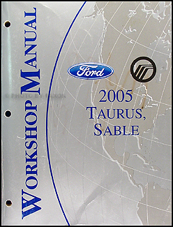 2005 ford taurus mercury sable wiring diagrams manual original 2005 ford taurus mercury sable repair shop manual original 134 00