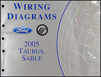 2005FordTaurusWD 2005 ford taurus & mercury sable wiring diagrams manual original 2002 mercury sable spark plug wiring diagram at creativeand.co