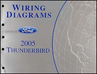 2005 ford thunderbird wiring diagram manual original rh faxonautoliterature com