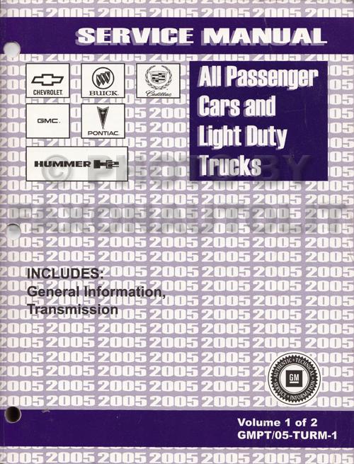 2005 Chevrolet Equinox Repair Shop Manual Original 2