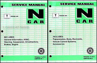 2005 pontiac grand am repair shop manual original 2 volume set rh faxonautoliterature com 2004 pontiac grand am service manual 2004 Pontiac Grand AM