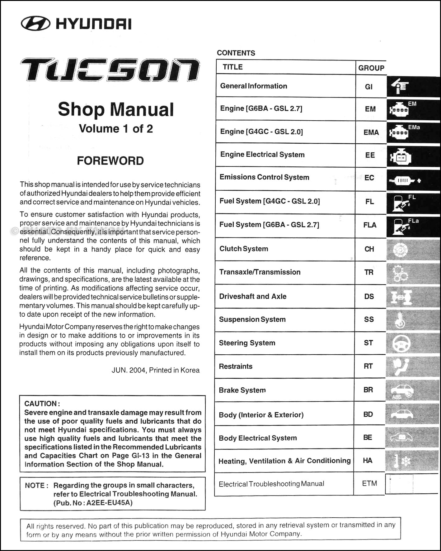 2005HyundaiTuesonORMSet TOC hyundai tucson wiring diagram pdf efcaviation com  at bakdesigns.co