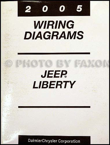 2005 Jeep Liberty Wiring Diagram Manual Original