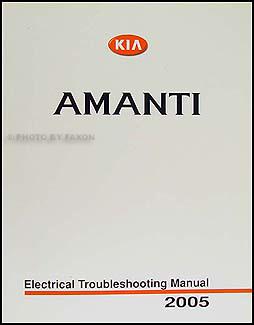 2005 kia amanti electrical troubleshooting manual original rh faxonautoliterature com kia amanti 2005 radio wiring diagram
