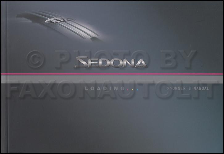 2005 kia sedona owners manual original rh faxonautoliterature com 2005 kia sedona service manual 2005 kia sedona repair manual