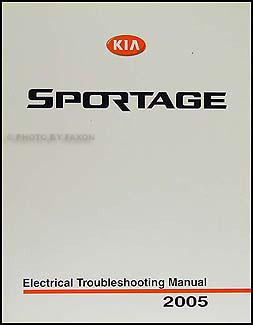 Sensational 2005 Kia Sportage Electrical Troubleshooting Manual Original Wiring Cloud Brecesaoduqqnet
