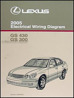 2005 lexus gs 300 & gs 430 wiring diagram manual original 2012 chrysler 300 wiring harness diagram