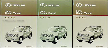 2005 lexus gx 470 repair shop manual original 3 volume set rh faxonautoliterature com lexus gx470 service manual 2006 lexus gx 470 owners manual pdf