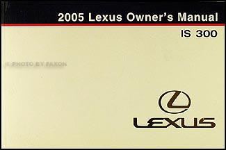 search rh faxonautoliterature com 2001 lexus is 300 owners manual 2001 lexus is300 owner's manual