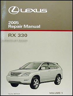 Lexus rx owners manual