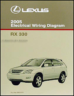 2005 lexus rx 330 wiring diagram manual original. Black Bedroom Furniture Sets. Home Design Ideas