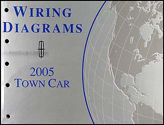 2005 Lincoln Town Car Original Wiring Diagrams