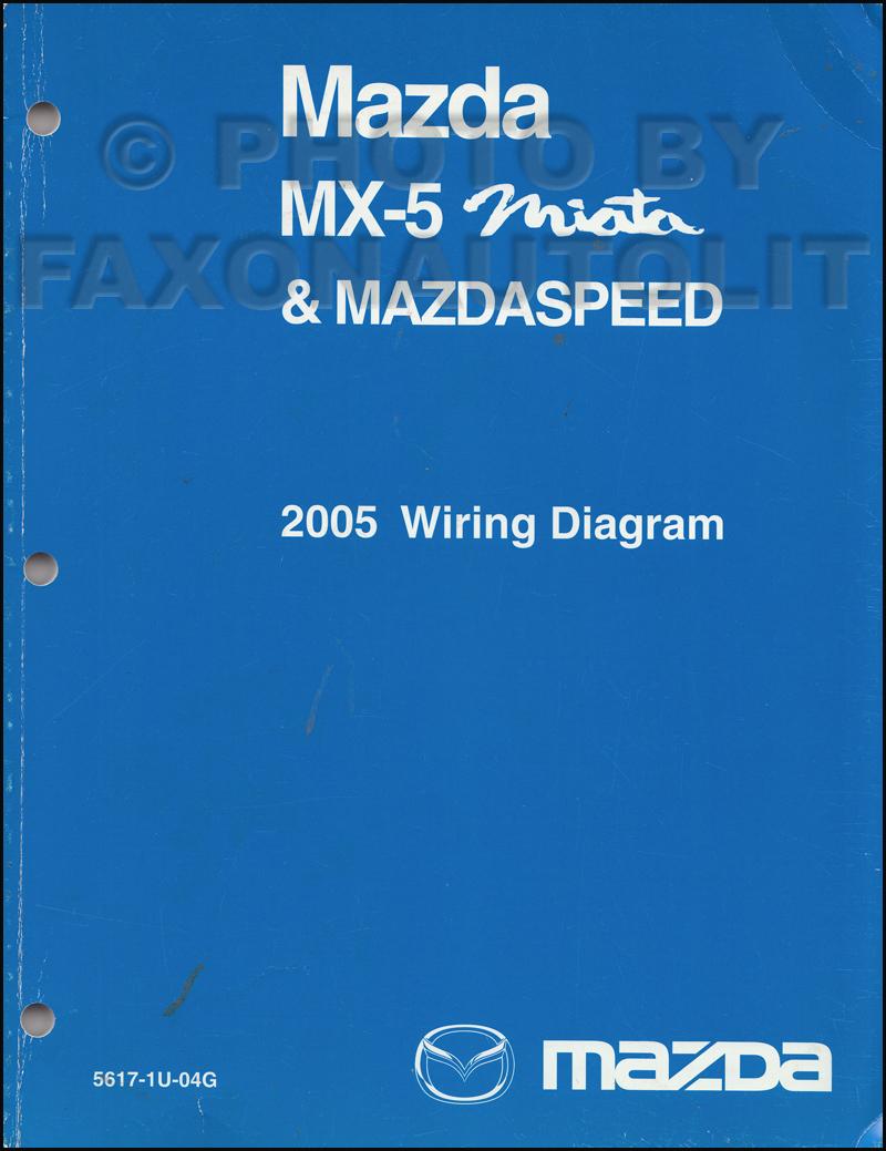 2008 mazda miata mx 5 wiring diagrams 2005 mazda mx-5 miata mazdaspeed wiring diagram manual ...