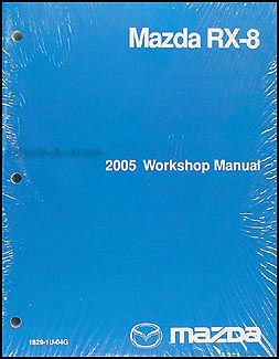 2005 mazda rx 8 wiring diagram manual original rx8