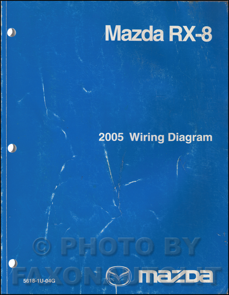 wiring diagrams for mazda rx 8 2005 mazda rx-8 repair shop manual original
