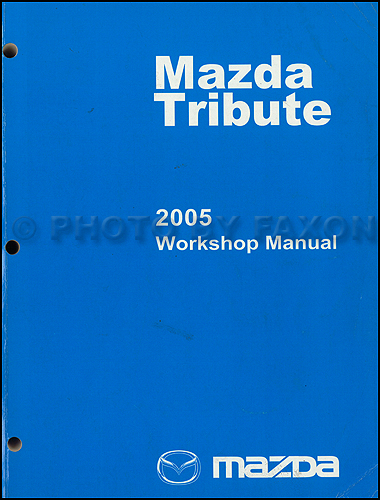 2005 mazda tribute wiring diagram manual original related items