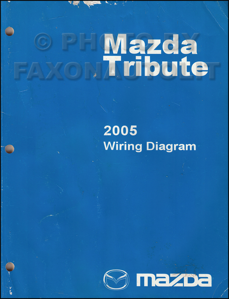 2005MazdaTributeOWD 2005 mazda tribute repair shop manual original wiring diagram for 2001 mazda tribute at crackthecode.co