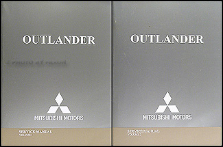 2005 mitsubishi outlander repair shop manual original. Black Bedroom Furniture Sets. Home Design Ideas