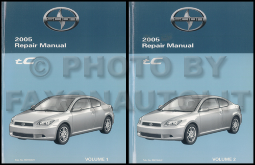 2005 scion tc repair shop manual original rh faxonautoliterature com 2005 Scion Repair Manual 2005 Scion Owner's Manual