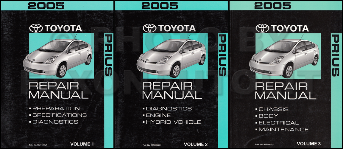 Toyota Prius Repair Manual Wheel Bearing