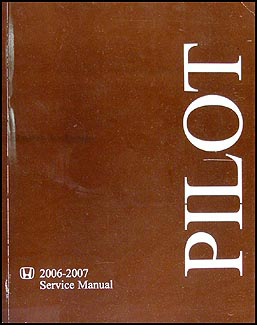 2007 honda pilot owners manual