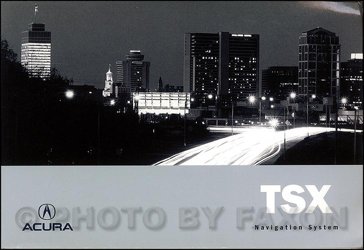 2006 acura tsx navigation system owners manual original rh faxonautoliterature com 2006 acura rsx type s owners manual 2005 Acura TSX