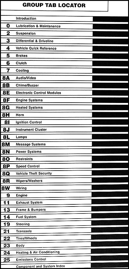 chrysler sebring repair manual pdf