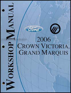 2006 crown victoria grand marquis original wiring diagram manual 2006 crown victoria grand marquis repair shop manual original 139 00