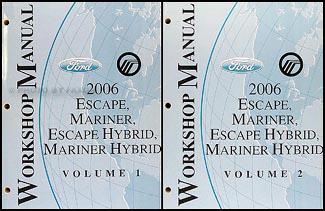 2006 ford escape repair manual