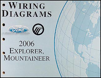2006FordExplorerOWD 2006 ford explorer mercury mountaineer wiring diagram manual original 2000 Mercury Mountaineer Radio Wiring Diagram at bayanpartner.co