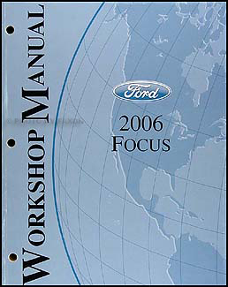2006FordFocusORM 2006 ford focus repair shop manual original 2006 ford focus wiring diagram at bayanpartner.co