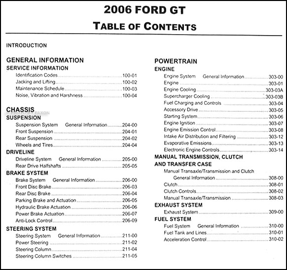 ford mustang owners manual   ford mustang