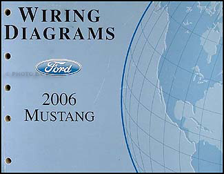 2006 ford mustang wiring diagram manual original rh faxonautoliterature com 2006 ford mustang alternator wiring diagram 2006 ford mustang v6 wiring diagram
