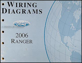 2006 ford ranger wiring diagram manual original rh faxonautoliterature com 2006 ford ranger radio wiring diagram 2006 ranger wiring diagram