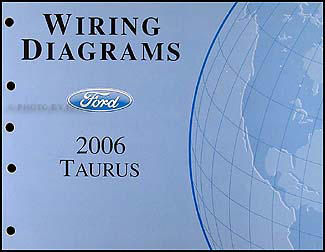 2006FordTaurusWD 2006 2007 ford taurus wiring diagrams manual original 2007 taurus wiring diagram at mifinder.co