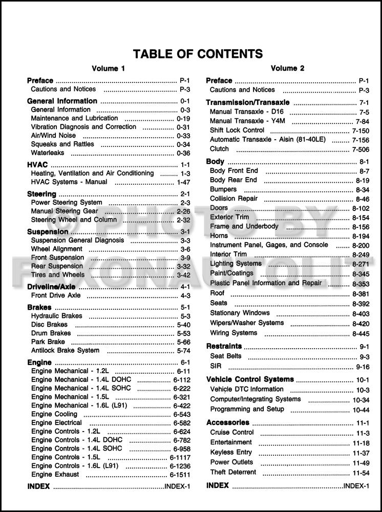 2006 chevy aveo pontiac wave repair shop manual original 2 volume set rh faxonautoliterature com 2006 Chevy Aveo Problems 2006 chevy aveo repair manual