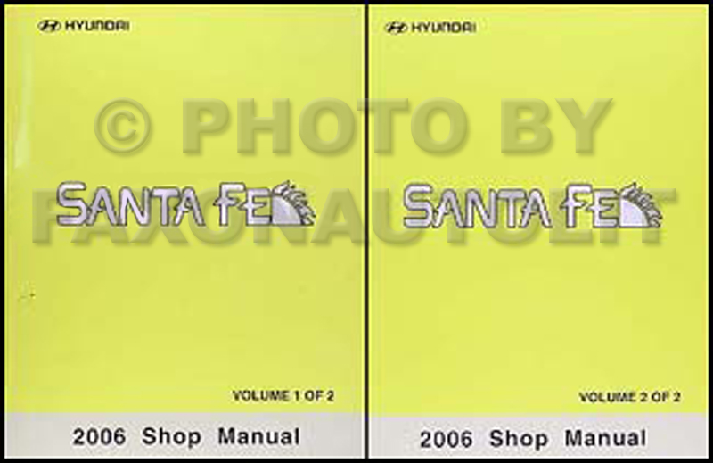 2004 hyundai santa fe repair manual pdf